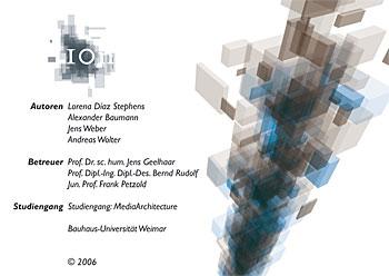 mediaarchitecture.de // // archiv » ion: einladung zur vernissage, Einladung
